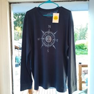 NWT Life is Good long sleeve T shirt, L